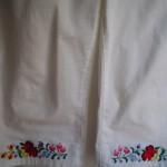Kalocsai mintás fehér halász nadrág