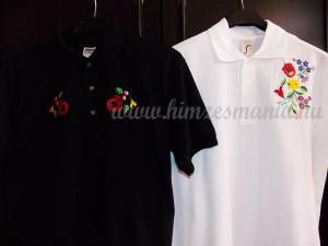 Kalocsai hímzett férfi pólók