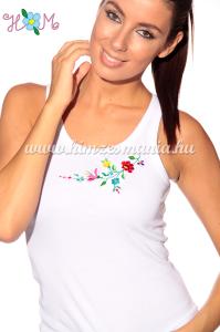 Kalocsai fehér trikó