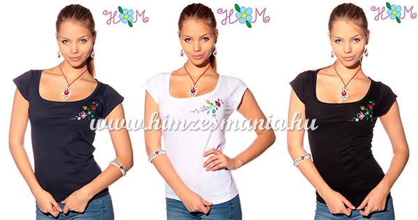 Kalocsai hímzett pólók