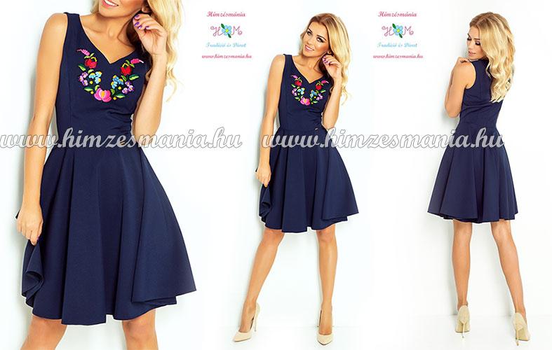 Kalocsai mintás ruhák - kék